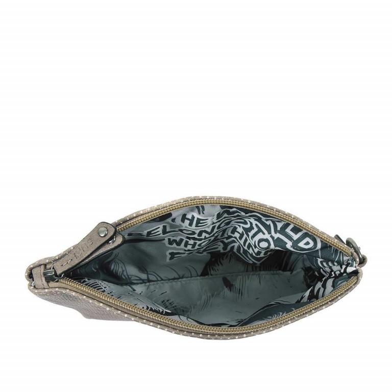 SURI FREY Romy Kosmetiktasche M Reißverschluss Synthetik Dark Grey, Farbe: grau, Marke: Suri Frey, Abmessungen in cm: 17.0x11.0x4.0, Bild 3 von 3