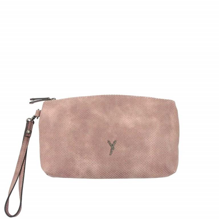 SURI FREY Romy Kosmetiktasche L Reißverschluss Synthetik Rose, Farbe: rosa/pink, Marke: Suri Frey, Abmessungen in cm: 24.0x13.0x4.0, Bild 1 von 3