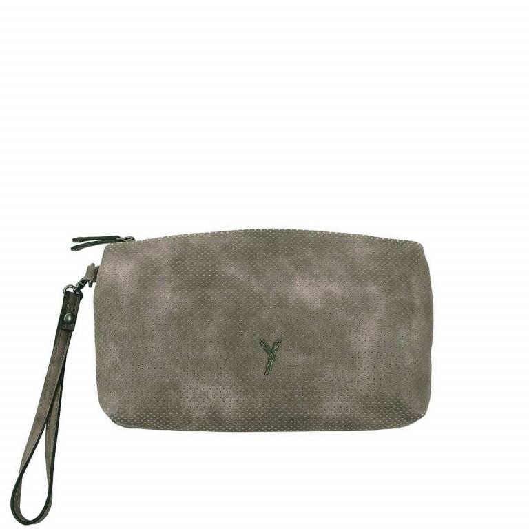 SURI FREY Romy Kosmetiktasche L Reißverschluss Synthetik Dark Grey, Farbe: grau, Marke: Suri Frey, Abmessungen in cm: 24.0x13.0x4.0, Bild 1 von 3