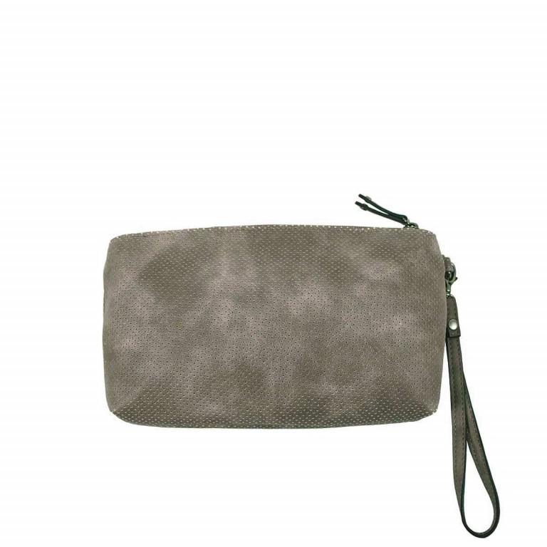 SURI FREY Romy Kosmetiktasche L Reißverschluss Synthetik Dark Grey, Farbe: grau, Marke: Suri Frey, Abmessungen in cm: 24.0x13.0x4.0, Bild 2 von 3