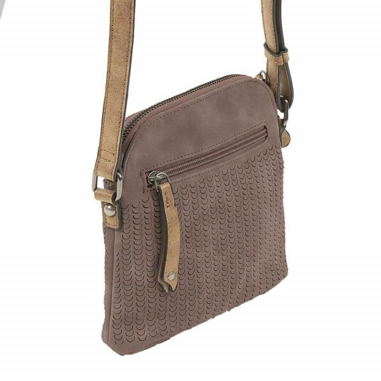 SURI FREY Ruby Crossbag S Reißverschluss Synthetik Brown, Farbe: braun, Marke: Suri Frey, Abmessungen in cm: 18.0x17.0x5.0, Bild 3 von 5