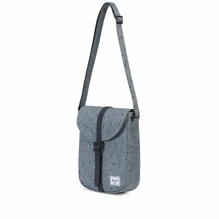Herschel Kingsgate Crossbody Scattered Raven Crosshatch, Manufacturer: Herschel, EAN: 828432102587, Dimensions (cm): 21.0x26.0x6.0, Image 2 of 3