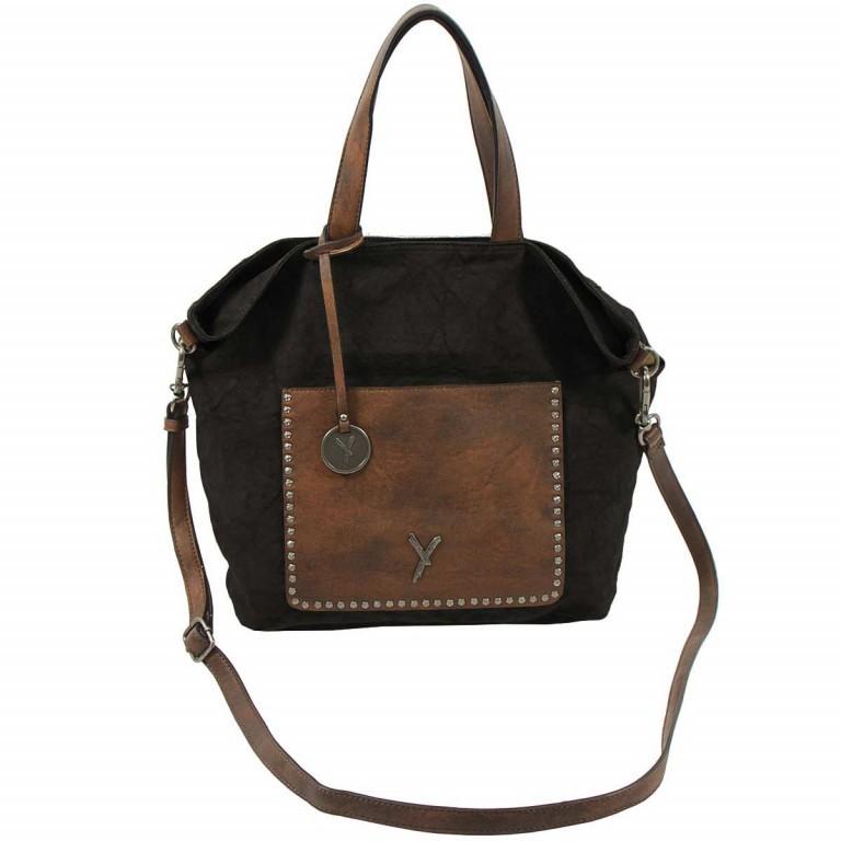 SURI FREY Lilly Shopper M Synthetik Black, Farbe: schwarz, Marke: Suri Frey, Abmessungen in cm: 40.0x31.0x13.0, Bild 2 von 6