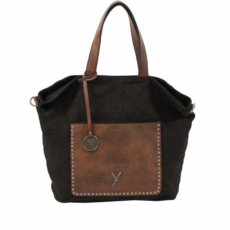 SURI FREY Lilly Shopper M Synthetik Black, Farbe: schwarz, Marke: Suri Frey, Abmessungen in cm: 40.0x31.0x13.0, Bild 1 von 6