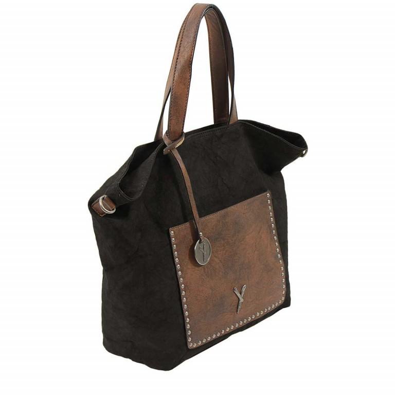 SURI FREY Lilly Shopper M Synthetik Black, Farbe: schwarz, Marke: Suri Frey, Abmessungen in cm: 40.0x31.0x13.0, Bild 3 von 6