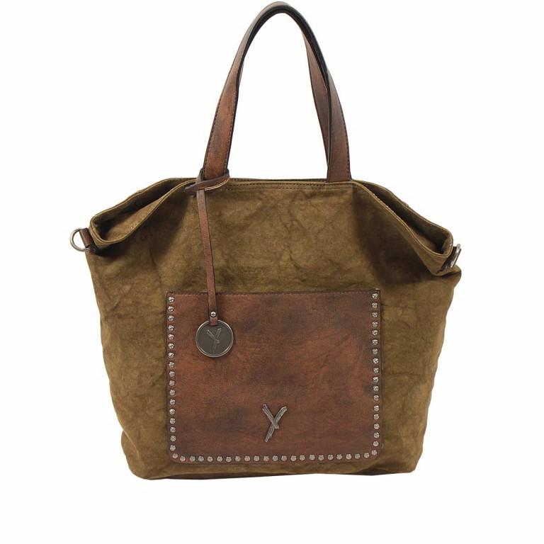 SURI FREY Lilly Shopper M Synthetik Khaki, Farbe: taupe/khaki, Marke: Suri Frey, Abmessungen in cm: 40.0x31.0x13.0, Bild 1 von 6