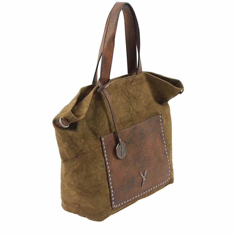SURI FREY Lilly Shopper M Synthetik Khaki, Farbe: taupe/khaki, Marke: Suri Frey, Abmessungen in cm: 40.0x31.0x13.0, Bild 3 von 6
