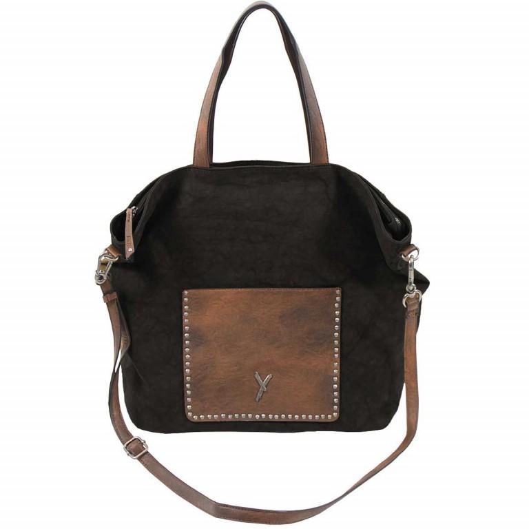 SURI FREY Lilly Shopper L Synthetik Black, Farbe: schwarz, Marke: Suri Frey, Abmessungen in cm: 45.0x35.0x16.0, Bild 2 von 6