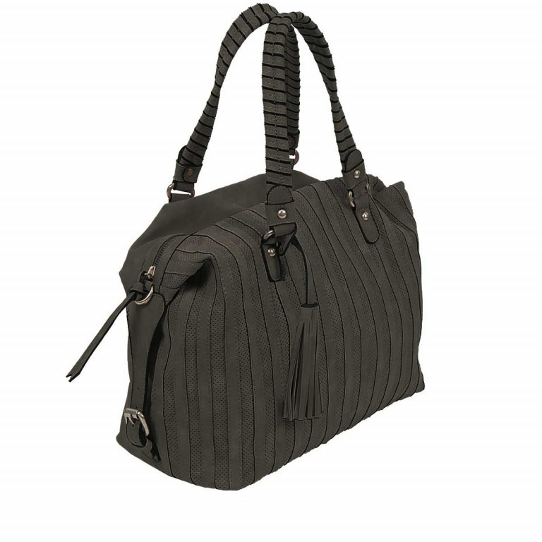 SURI FREY Katie May Bowlingbag Synthetik Black, Farbe: schwarz, Manufacturer: Suri Frey, Dimensions (cm): 35.0x26.0x15.0, Image 3 of 5