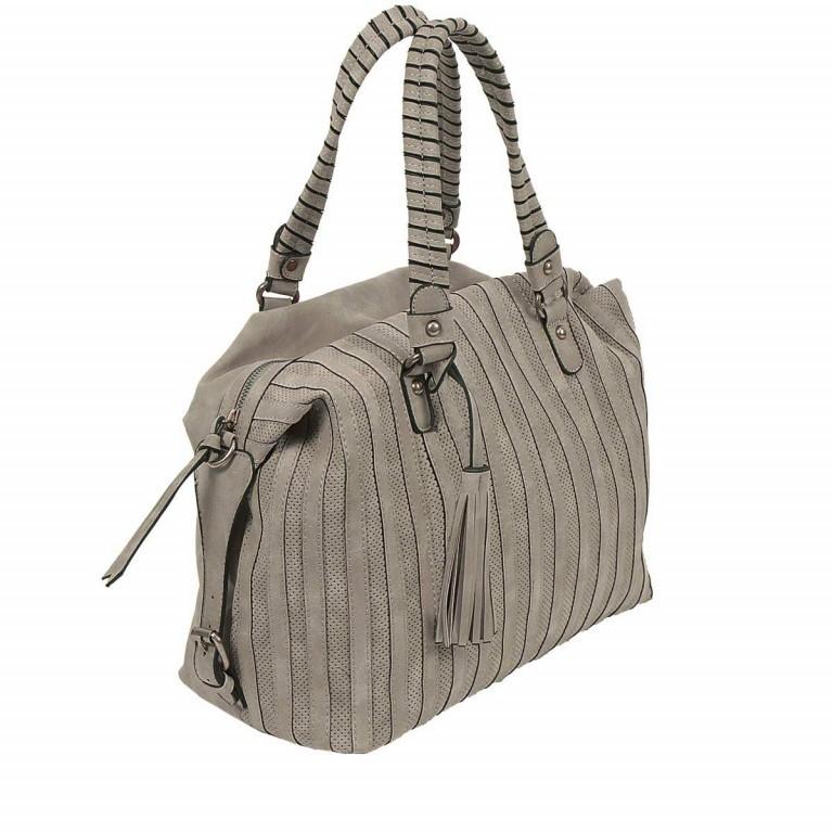 SURI FREY Katie May Bowlingbag Synthetik Dark Grey, Farbe: grau, Manufacturer: Suri Frey, Dimensions (cm): 35.0x26.0x15.0, Image 3 of 5