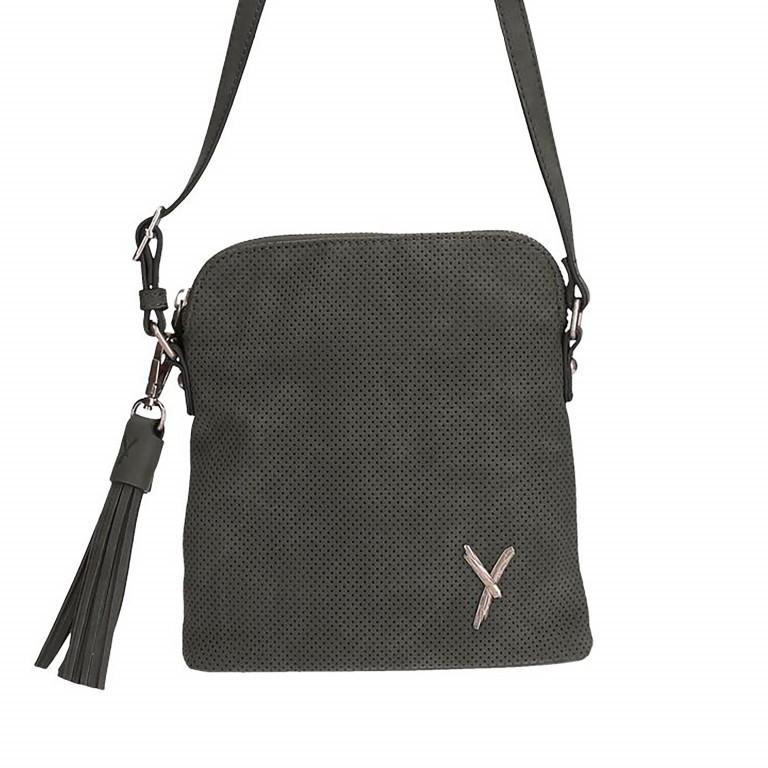 SURI FREY Romy 10701 Crossbag, Farbe: schwarz, grau, blau/petrol, braun, orange, Marke: Suri Frey, Abmessungen in cm: 23.0x20.0x5.0, Bild 1 von 1