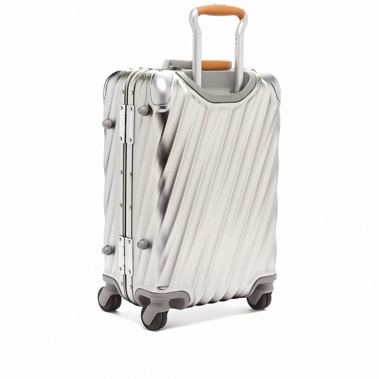 Tumi 19 Degree International Carry On 56cm 4Rollen Texture Silver, Farbe: grau, Marke: Tumi, EAN: 742315534688, Abmessungen in cm: 35.5x56.0x23.0, Bild 2 von 6