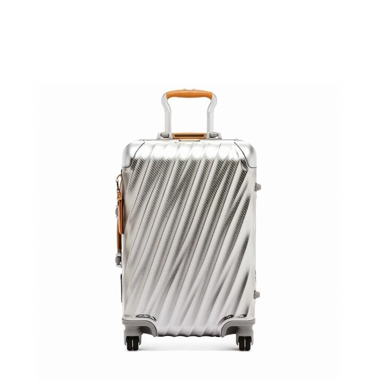 Tumi 19 Degree International Carry On 56cm 4Rollen Texture Silver, Farbe: grau, Marke: Tumi, EAN: 742315534688, Abmessungen in cm: 35.5x56.0x23.0, Bild 1 von 6