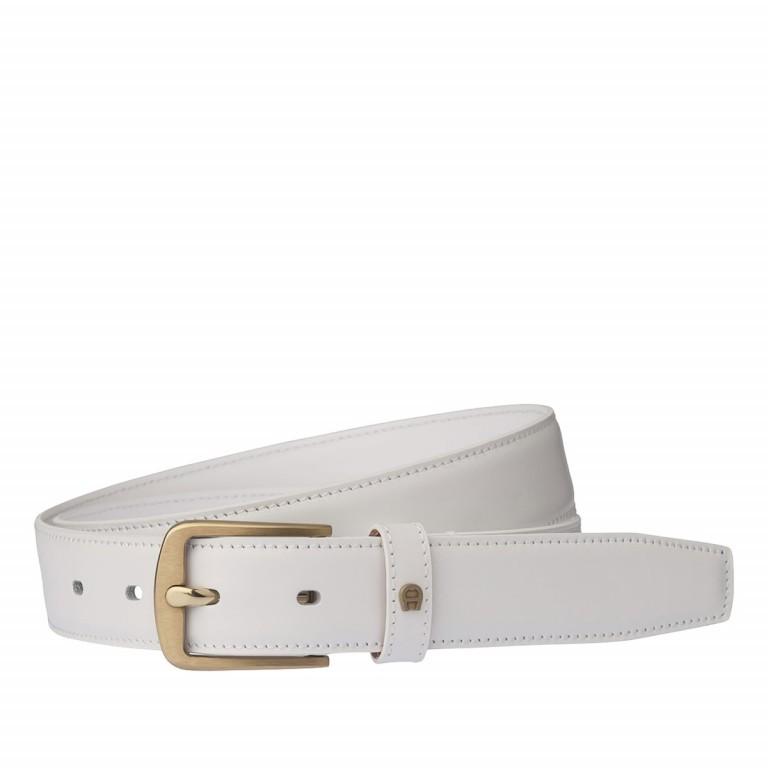 AIGNER Daily Basis Gürtel 125564 100cm White, Farbe: weiß, Marke: Aigner, Abmessungen in cm: 115.0x3.0, Bild 1 von 2