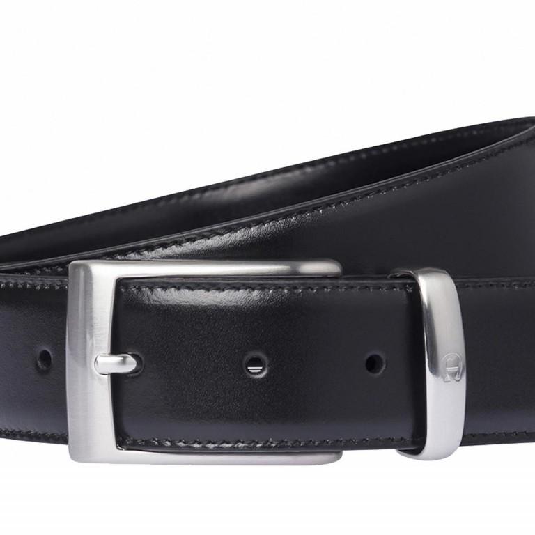 AIGNER Daily Basis Gürtel 126355 110cm Black, Farbe: schwarz, Marke: Aigner, Abmessungen in cm: 125.0x3.5, Bild 2 von 2