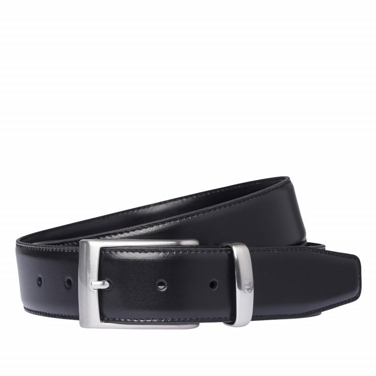 AIGNER Daily Basis Gürtel 126355 110cm Black, Farbe: schwarz, Marke: Aigner, Abmessungen in cm: 125.0x3.5, Bild 1 von 2