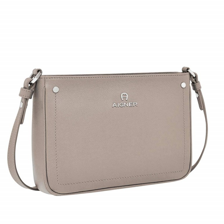AIGNER Ava Umhängetasche 132002 Taupe, Farbe: taupe/khaki, Manufacturer: Aigner, Dimensions (cm): 23.5x17.5x7.0, Image 2 of 3