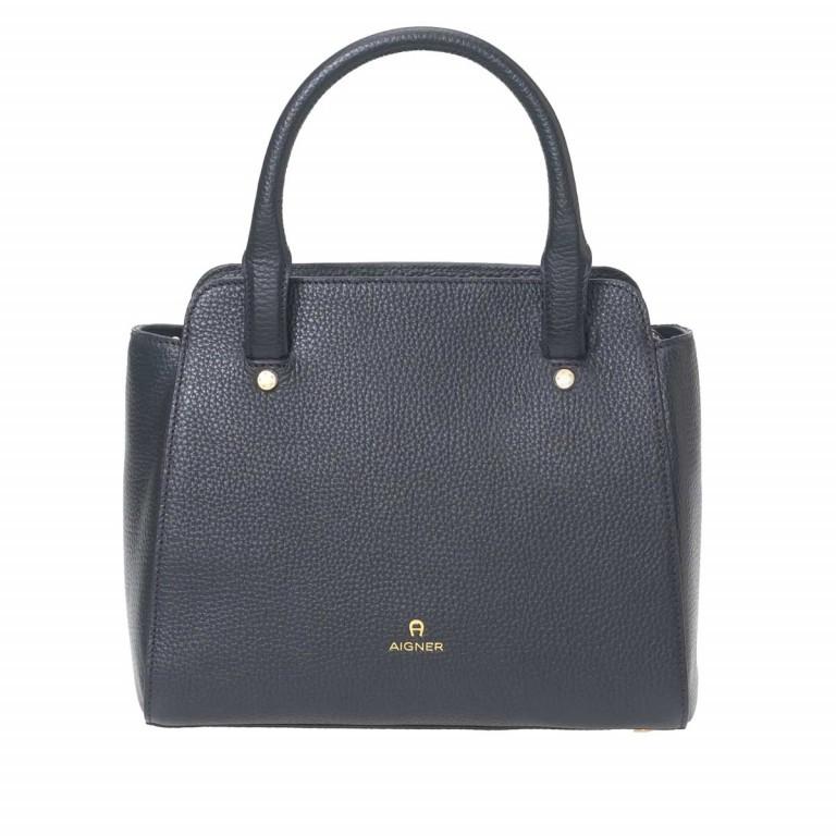 AIGNER Ivy Handtasche 133423 Black, Farbe: schwarz, Marke: Aigner, Abmessungen in cm: 24.0x21.0x9.0, Bild 1 von 3