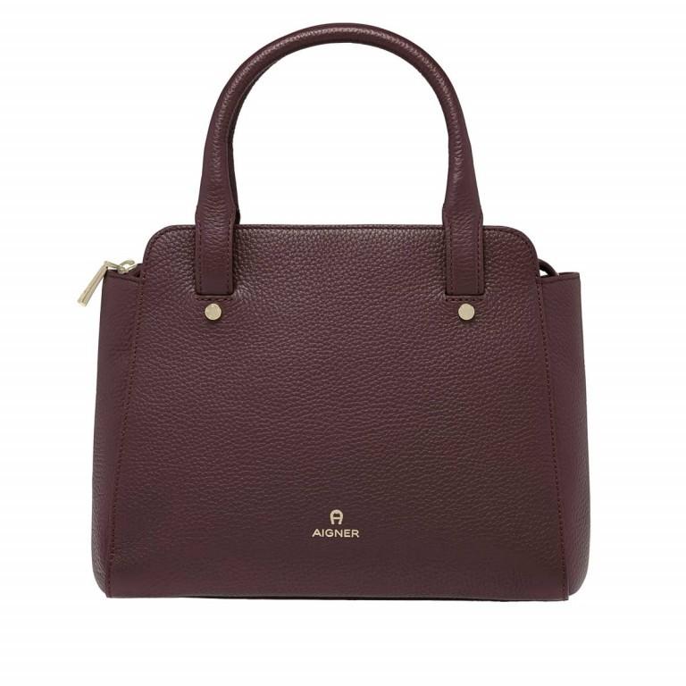 AIGNER Ivy Handtasche 133423 Bordeaux, Farbe: rot/weinrot, Marke: Aigner, Abmessungen in cm: 24.0x21.0x9.0, Bild 1 von 3