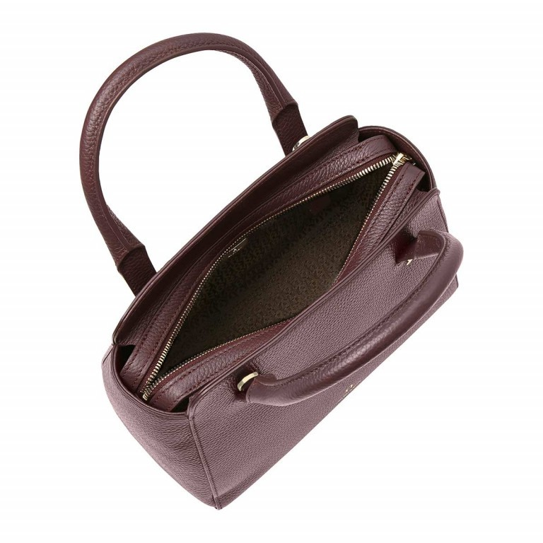 AIGNER Ivy Handtasche 133423 Bordeaux, Farbe: rot/weinrot, Marke: Aigner, Abmessungen in cm: 24.0x21.0x9.0, Bild 3 von 3