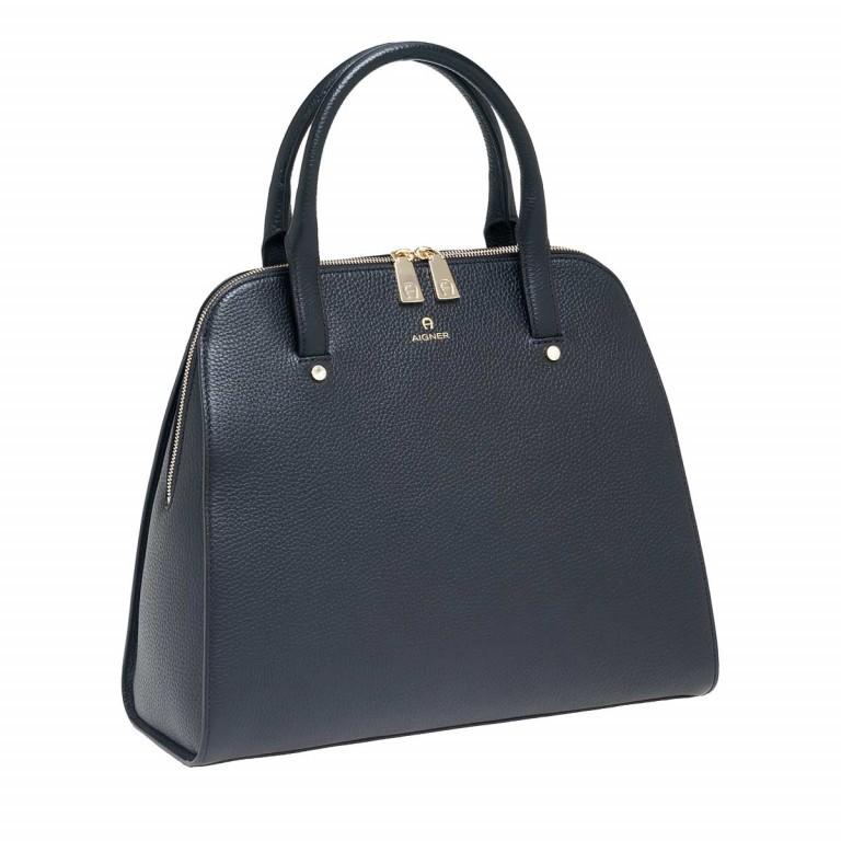 AIGNER Ivy Handtasche 133424 Black, Farbe: schwarz, Marke: Aigner, Abmessungen in cm: 34.0x28.0x10.0, Bild 2 von 3