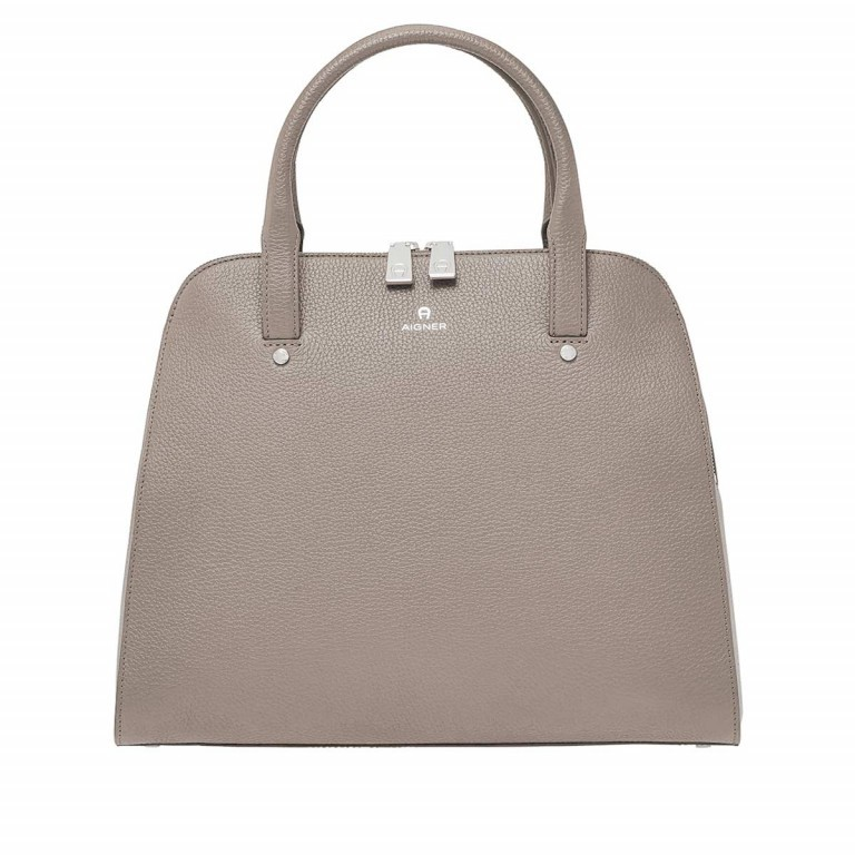 AIGNER Ivy Handtasche 133424 Taupe, Farbe: taupe/khaki, Manufacturer: Aigner, Dimensions (cm): 34.0x28.0x10.0, Image 1 of 3