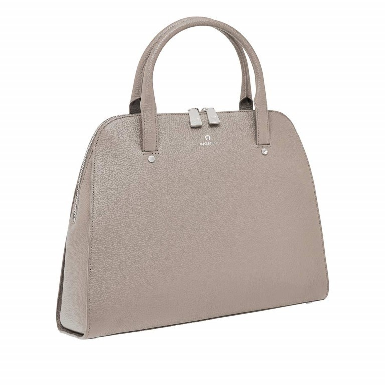 AIGNER Ivy Handtasche 133424 Taupe, Farbe: taupe/khaki, Manufacturer: Aigner, Dimensions (cm): 34.0x28.0x10.0, Image 2 of 3