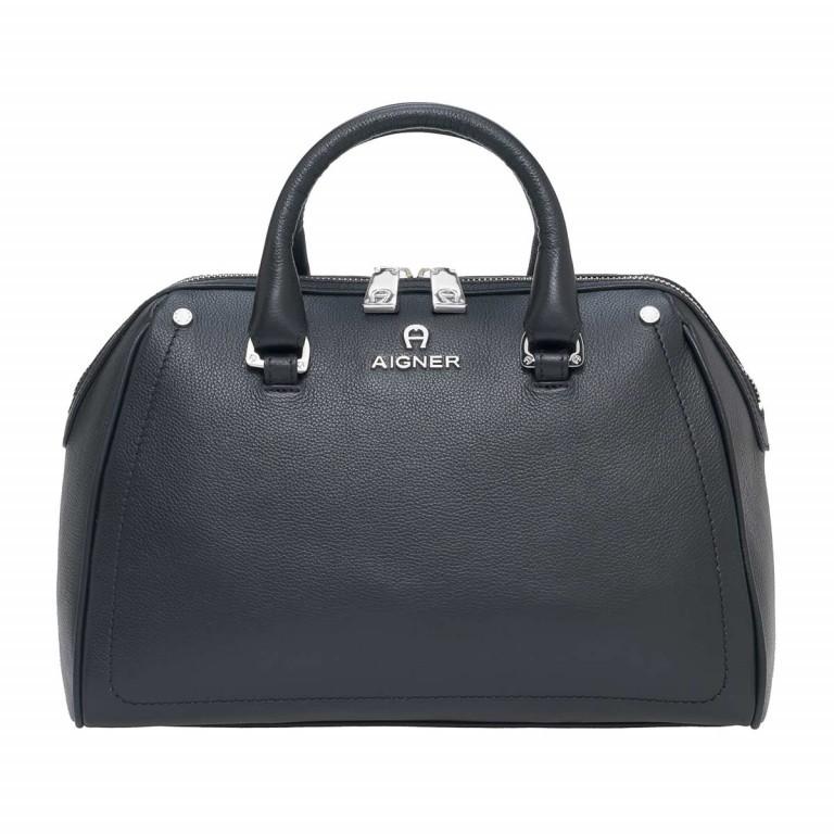 AIGNER Ava Handtasche 133508 Black, Farbe: schwarz, Marke: Aigner, Abmessungen in cm: 30.5x22.0x14.0, Bild 1 von 3