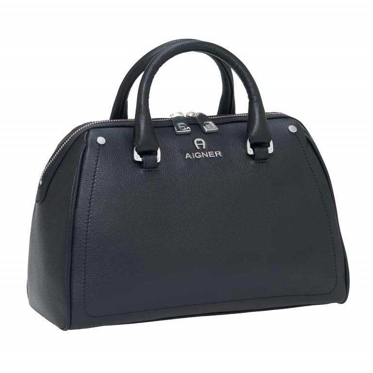 AIGNER Ava Handtasche 133508 Black, Farbe: schwarz, Marke: Aigner, Abmessungen in cm: 30.5x22.0x14.0, Bild 2 von 3