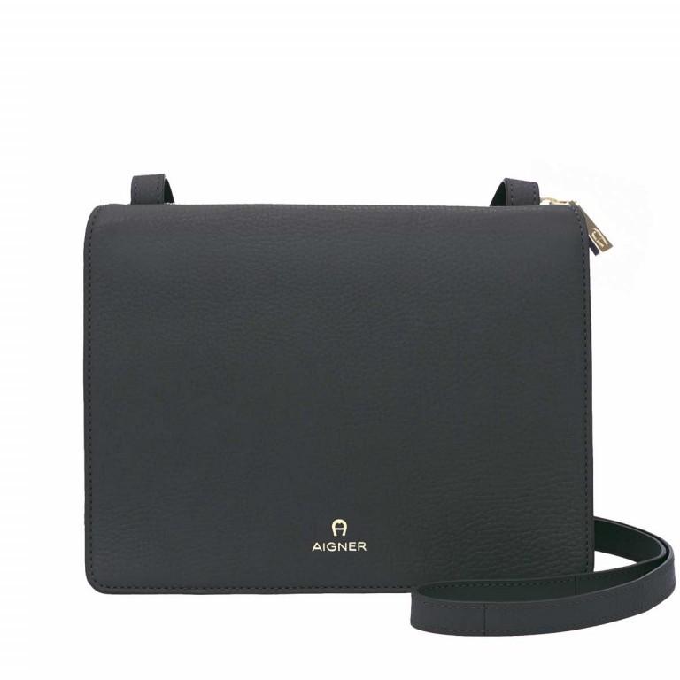 AIGNER Ivy Mini-Tasche 135168 Black, Farbe: schwarz, Marke: Aigner, Abmessungen in cm: 23.5x18.0x10.0, Bild 1 von 3