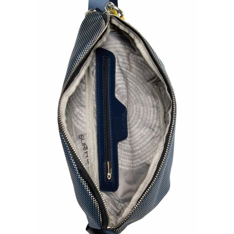 SURI FREY Marry 18016 Gürteltasche, Farbe: schwarz, grau, blau/petrol, beige, Marke: Suri Frey, Abmessungen in cm: 26.0x17.0x2.0, Bild 8 von 12