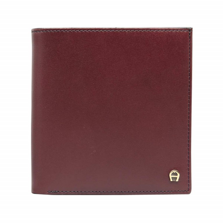 AIGNER Daily Basis Geldbörse 151737 Antic, Farbe: rot/weinrot, Manufacturer: Aigner, Dimensions (cm): 9.5x10.0x1.0, Image 1 of 2