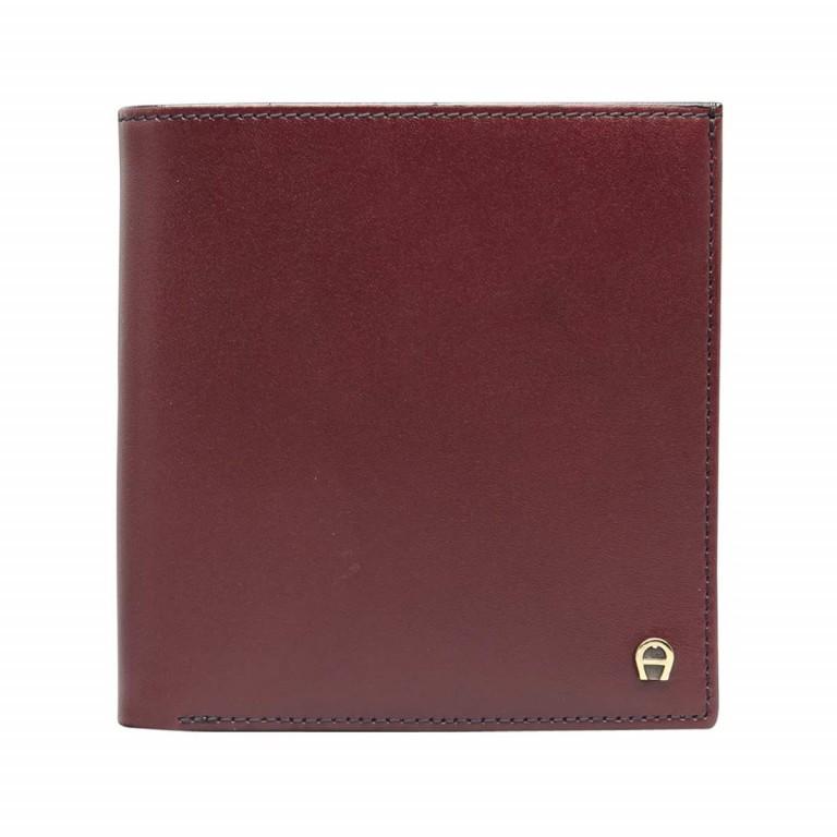 AIGNER Daily Basis Geldbörse 151737 Antic, Farbe: rot/weinrot, Marke: Aigner, Abmessungen in cm: 9.5x10.0x1.0, Bild 1 von 2
