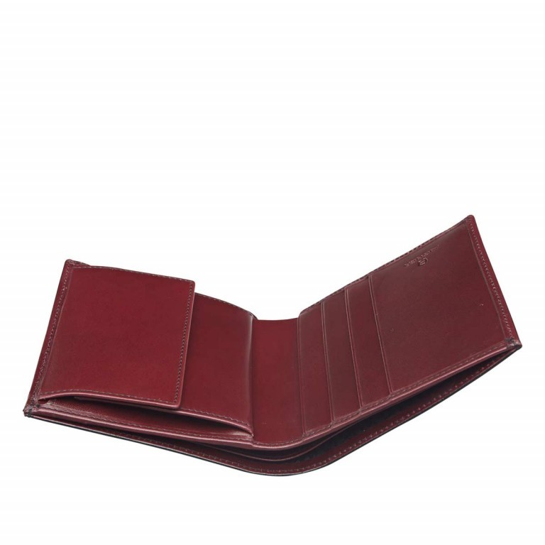 AIGNER Daily Basis Geldbörse 151737 Antic, Farbe: rot/weinrot, Manufacturer: Aigner, Dimensions (cm): 9.5x10.0x1.0, Image 2 of 2