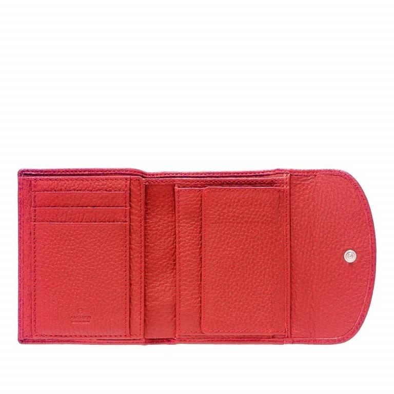AIGNER Basics Damenbörse 152206 Red, Farbe: rot/weinrot, Marke: Aigner, Abmessungen in cm: 12.0x10.0x2.0, Bild 2 von 2