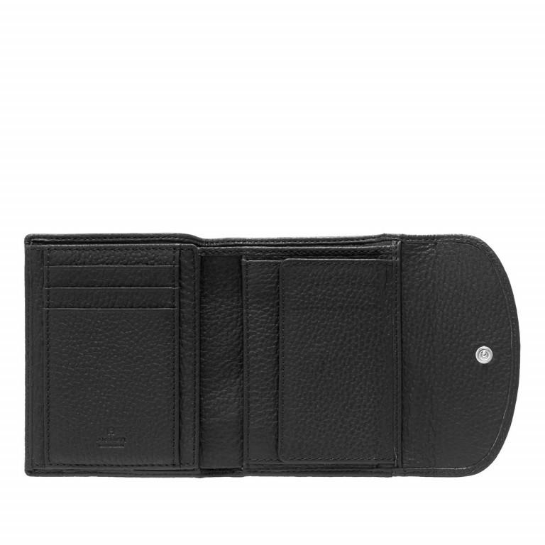 AIGNER Basics Damenbörse 152206 Black, Farbe: schwarz, Marke: Aigner, Abmessungen in cm: 12.0x10.0x2.0, Bild 2 von 2