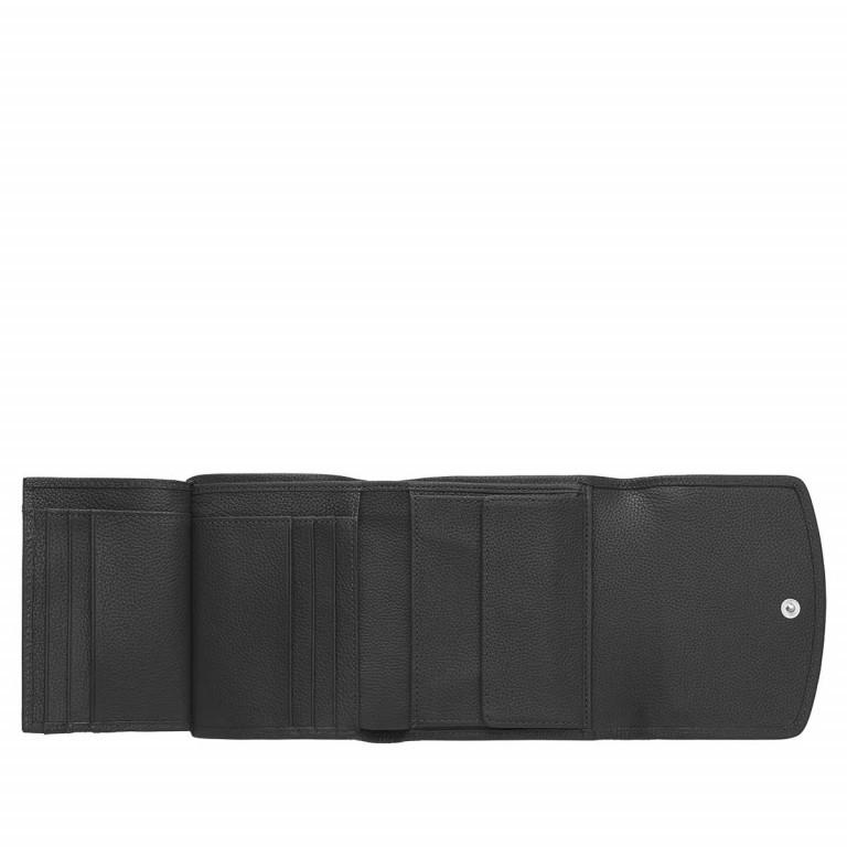 AIGNER Ava Kombibörse 152209 Black, Farbe: schwarz, Marke: Aigner, Abmessungen in cm: 12.5x11.0x3.0, Bild 3 von 3