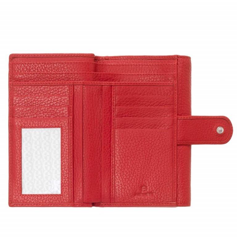 AIGNER Basics Damenbörse 152214 Red, Farbe: rot/weinrot, Marke: Aigner, Abmessungen in cm: 16.0x11.0x2.5, Bild 2 von 2