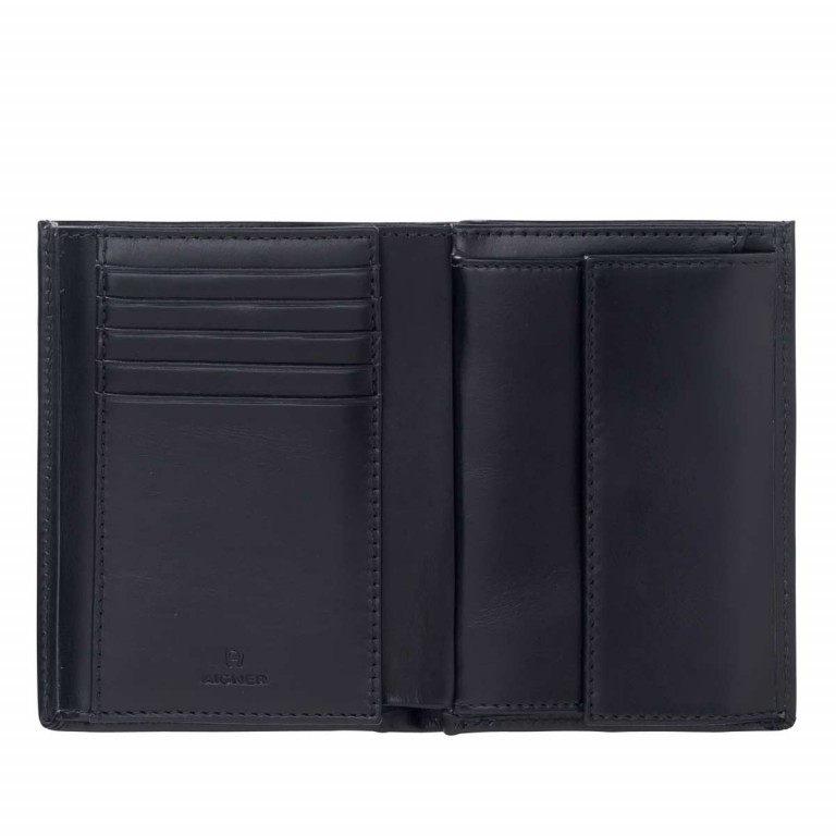 AIGNER Daily Basis Kombibörse 152678 Black, Farbe: schwarz, Manufacturer: Aigner, Dimensions (cm): 10.0x12.5x2.0, Image 2 of 2
