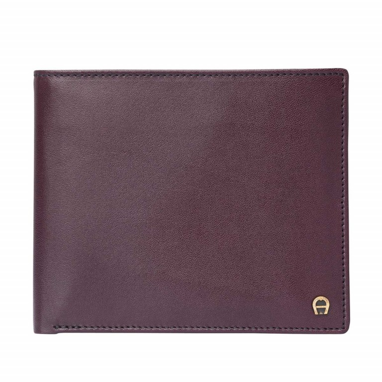 AIGNER Daily Basis Scheintasche 152679 Antic, Farbe: rot/weinrot, Manufacturer: Aigner, Dimensions (cm): 12.0x9.5x2.0, Image 1 of 2