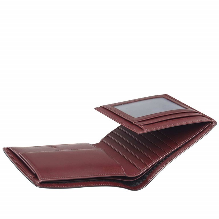 AIGNER Daily Basis Scheintasche 152679 Antic, Farbe: rot/weinrot, Manufacturer: Aigner, Dimensions (cm): 12.0x9.5x2.0, Image 2 of 2