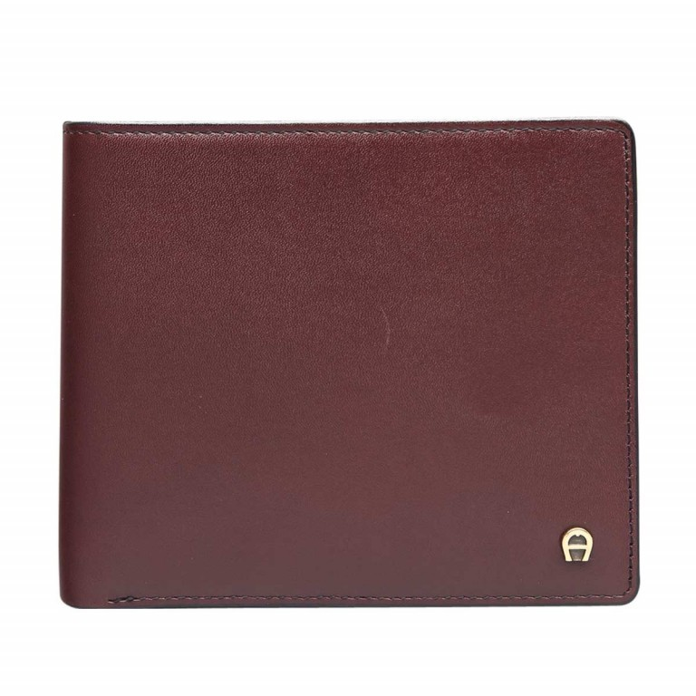 AIGNER Daily Basis Scheintasche 152681 Antic, Farbe: rot/weinrot, Manufacturer: Aigner, Dimensions (cm): 12.0x10.0x2.0, Image 1 of 2