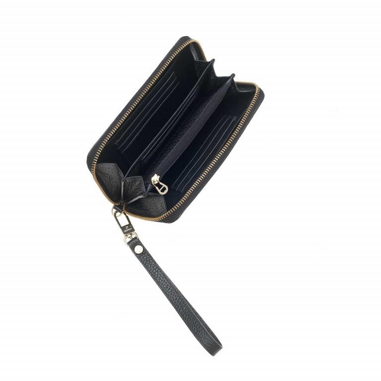 AIGNER Ivy Damenbörse 156586 Black, Farbe: schwarz, Marke: Aigner, Abmessungen in cm: 17.5x10.0x2.0, Bild 2 von 2