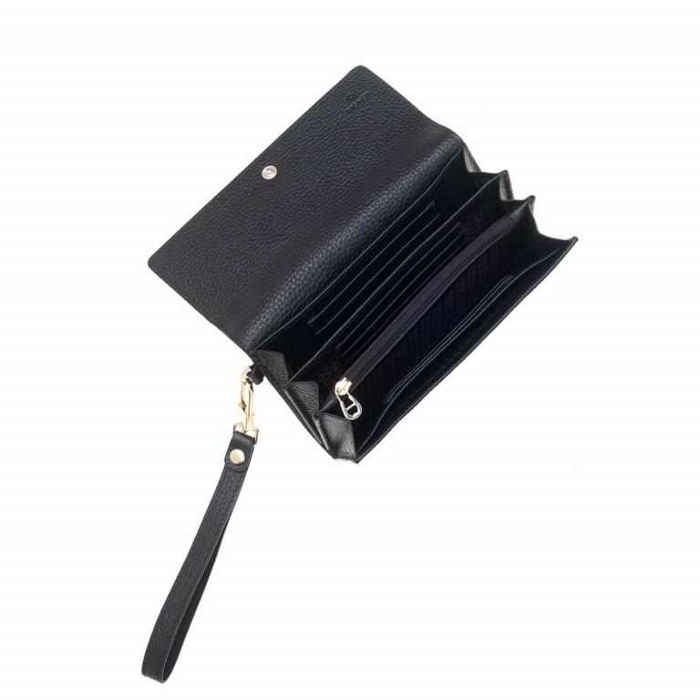 AIGNER Ivy Damenbörse 156587 Black, Farbe: schwarz, Marke: Aigner, Abmessungen in cm: 17.5x10.0x2.5, Bild 2 von 2