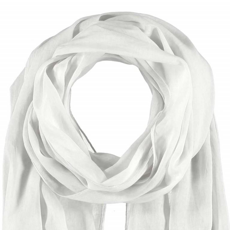 Passigatti Baumwolle Schal Pailletten Weiß, Farbe: weiß, Marke: Passigatti, EAN: 4046124012341, Abmessungen in cm: 180.0x50.0, Bild 2 von 2