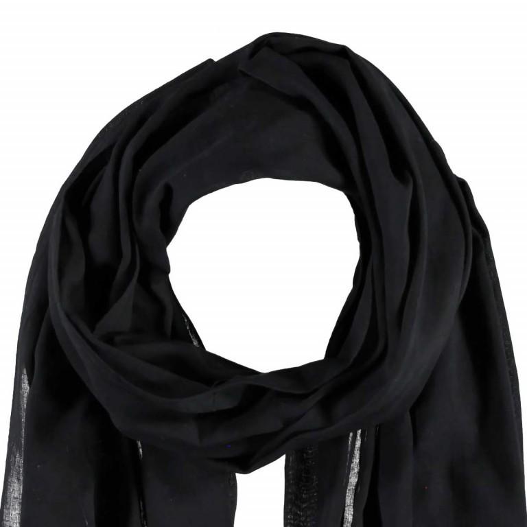 Passigatti Baumwolle Schal Pailletten Schwarz, Farbe: schwarz, Marke: Passigatti, EAN: 4046124007606, Abmessungen in cm: 180.0x50.0, Bild 2 von 2