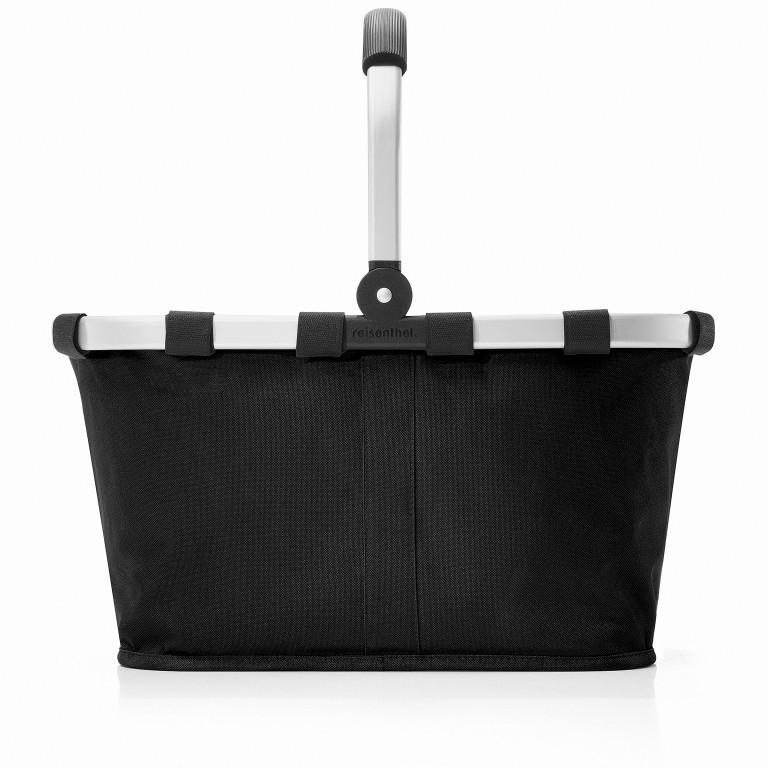 Reisenthel Carrybag BK., Farbe: schwarz, anthrazit, grau, blau/petrol, braun, cognac, taupe/khaki, grün/oliv, rot/weinrot, flieder/lila, orange, gelb, beige, weiß, metallic, bunt, Marke: Reisenthel, Abmessungen in cm: 48.0x29.0x28.0, Bild 2 von 5