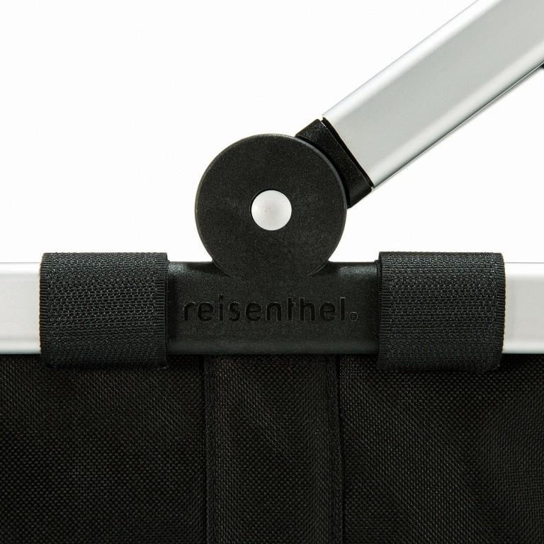 Reisenthel Carrybag BK., Farbe: schwarz, anthrazit, grau, blau/petrol, braun, cognac, taupe/khaki, grün/oliv, rot/weinrot, flieder/lila, orange, gelb, beige, weiß, metallic, bunt, Marke: Reisenthel, Abmessungen in cm: 48.0x29.0x28.0, Bild 5 von 5