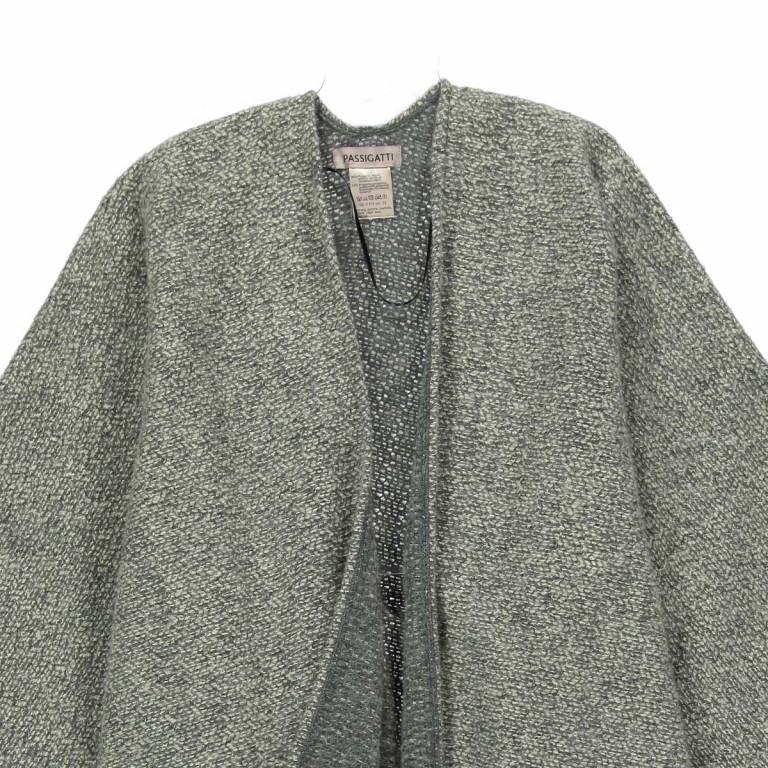 Passigatti Cape Acryl Weaved Grau, Farbe: grau, Marke: Passigatti, EAN: 4046124015038, Abmessungen in cm: 120.0x180.0, Bild 2 von 2