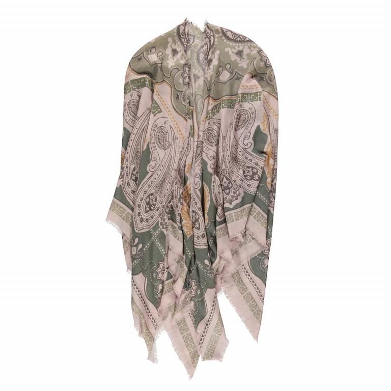 Passigatti Tuch Paisley-Print Khaki, Farbe: grün/oliv, rosa/pink, Marke: Passigatti, EAN: 4046124010934, Bild 1 von 1